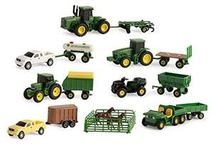 Amazon: John Deere Vehicle Value Set (26 Piezas / Escala 1:64)