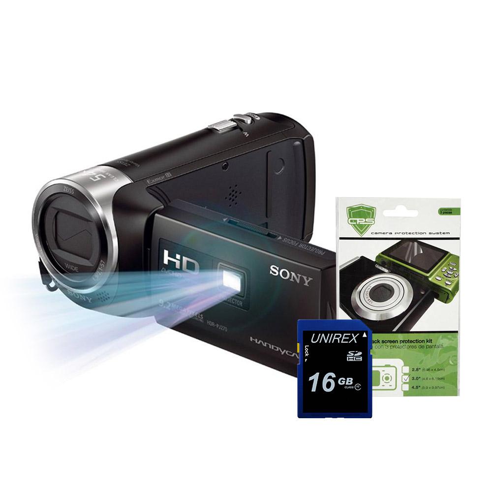 Walmart Online: Cámara De Vídeo Handycam Pj270 Con Proyector Integrado