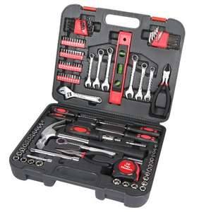 Amazon: Great Neck TK119 Home and Garage Tool Set, Pack of 119 Pieces