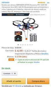 Amazon US: Drone with Camera-DBPOWER U818A