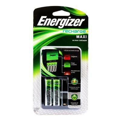Walmart Cargador Energizer Maxi + 2 Pilas AA
