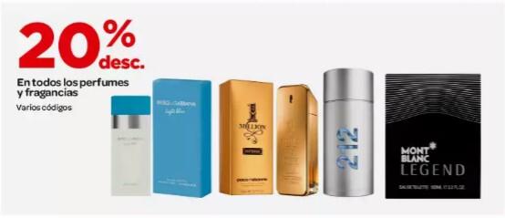 City Club: 20% de descuento en todos los perfumes