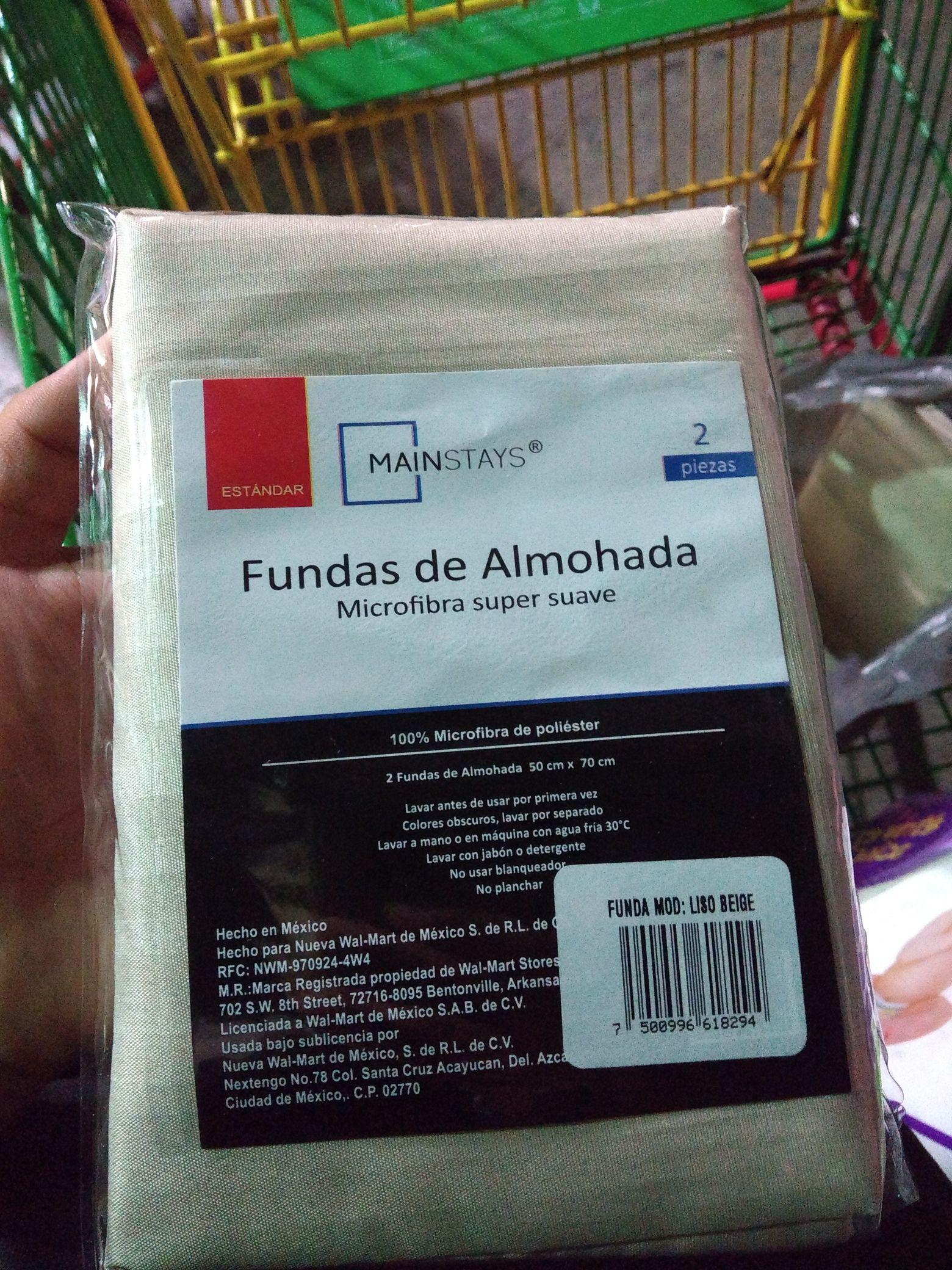 Bodega Aurrera: Funda de almohada Mainstays