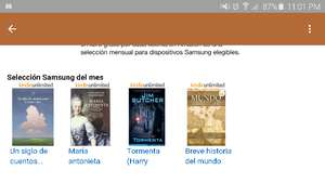 Amazon MX: Libros gratis para dispositivos Samsung febrero (leer descripción)