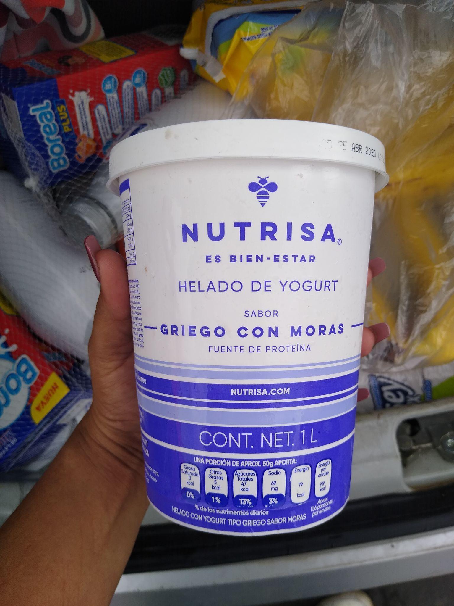 Chedraui bajadas: Helado de yogurt Nutrisa