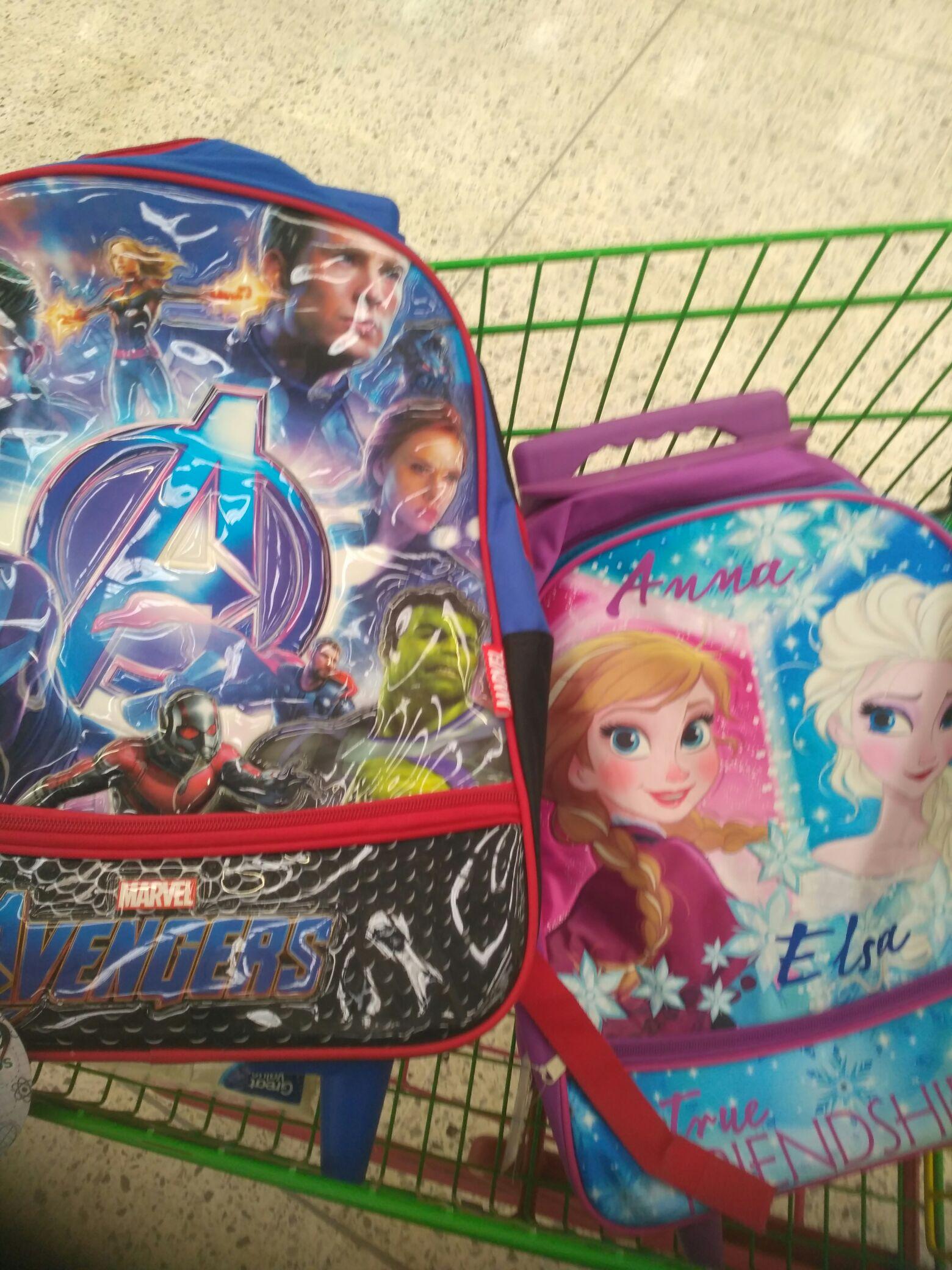 Bodega Aurrera: mochila con ruedas 200.03