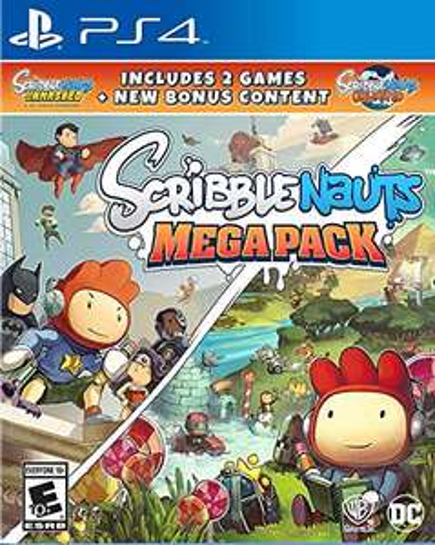 Amazon Scribblenauts Mega Pack PS4 (2 juegos en 1)