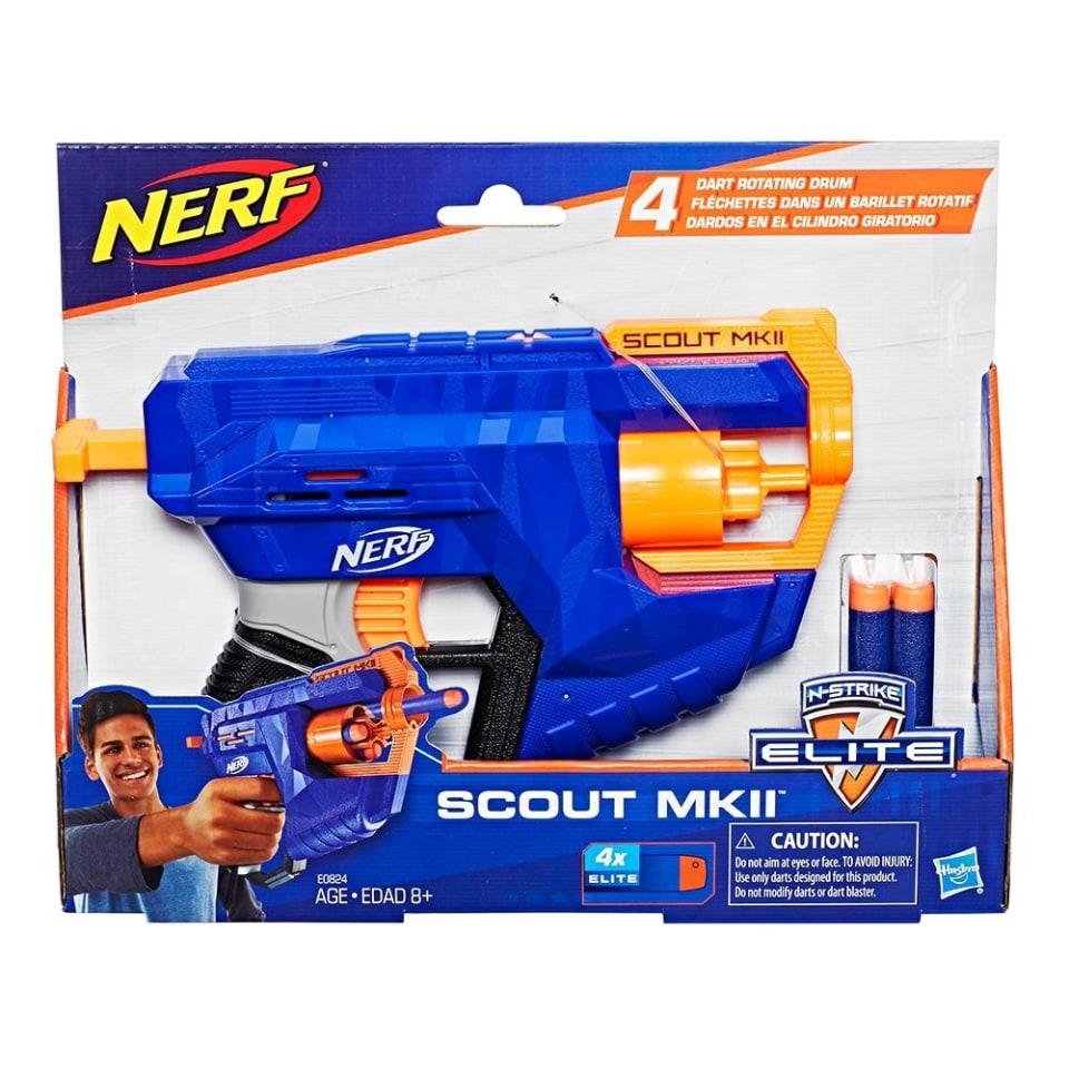 Walmart en línea: Lanzador Nerf N-Strike Elite Scout MKII