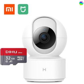 Linio: Camara de vigilancia Xiaomi con micro sd incluido
