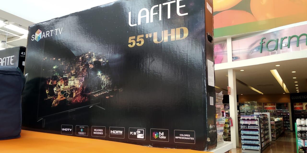 La Comer Pueblo Nuevo Querétaro: Pantalla UHD 55'' Smart TV LAFITE