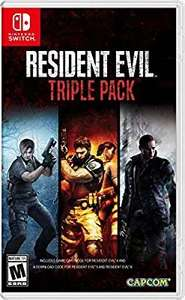 Amazon US: Resident Evil Triple Pack