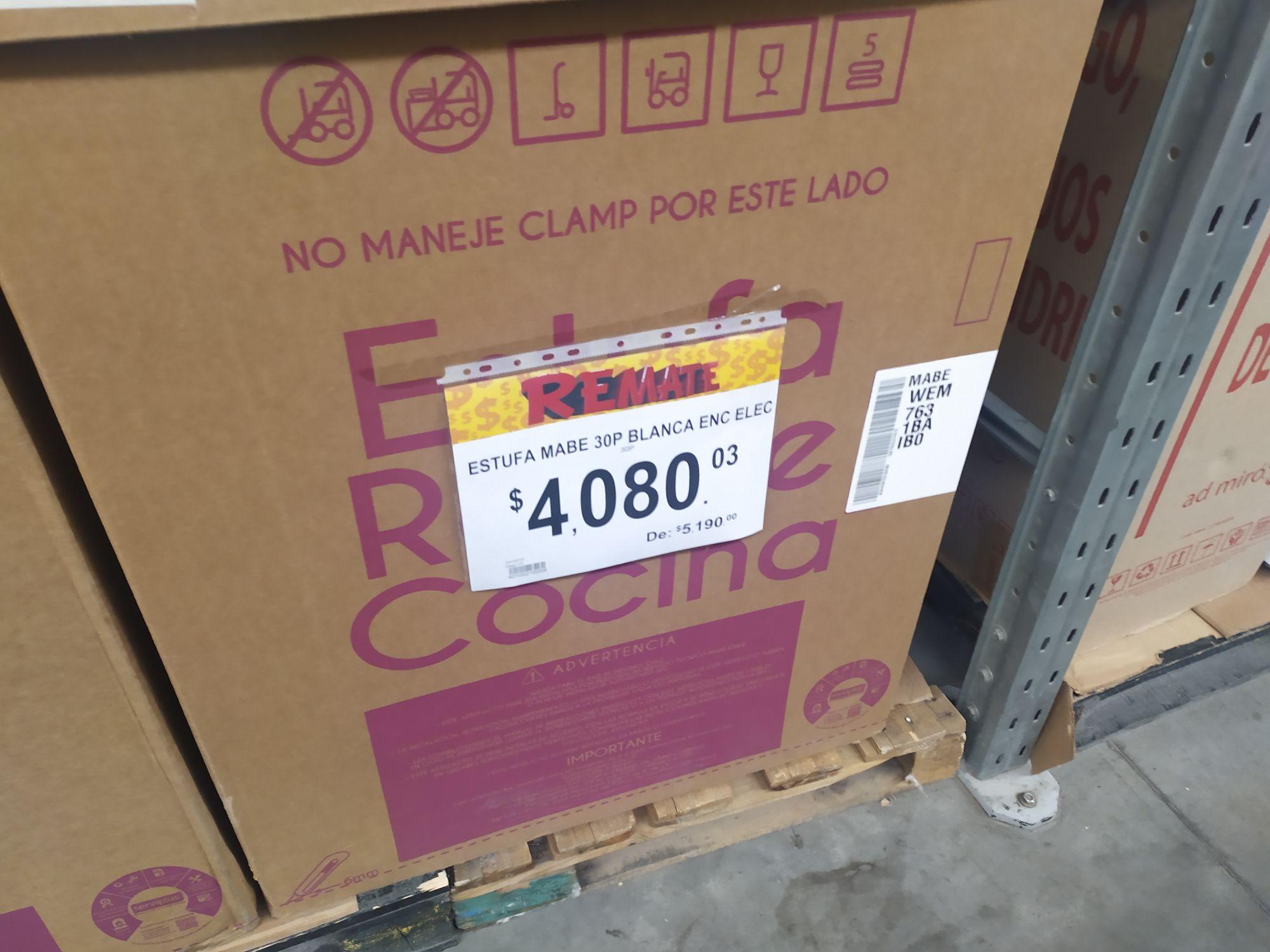Bodega Aurrerá: Estufa Mabe 30P Blanca ENC ELEC Primera liquidación