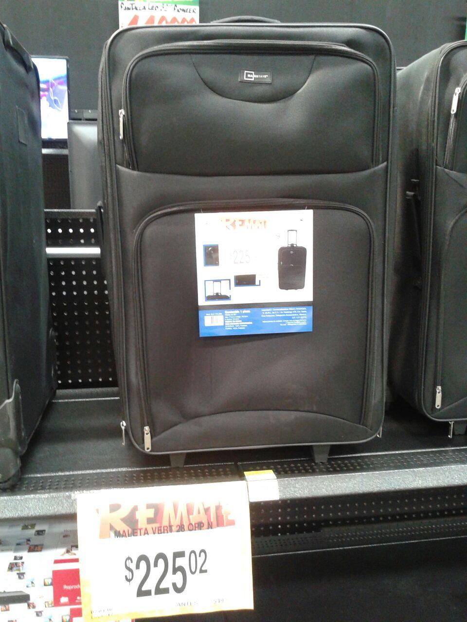 "Bodega Aurrerá: maleta de viaje con ruedas 28"" a $225.02 y mas"