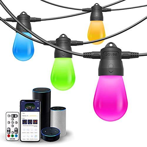 Amazon USA: Serie de Luces inteligentes contra agua de colores