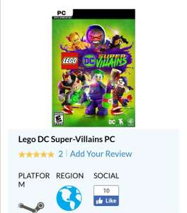CdKeys: Lego Super Villains - Steam