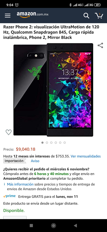 Amazon: Razer phone 2