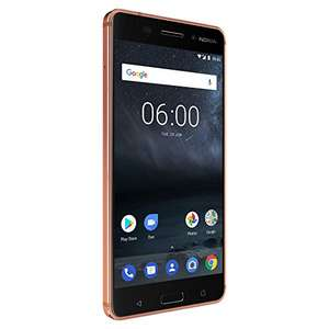 Amazon: Nokia 6 Pantalla FHD – Android 7.1 Color Cobre
