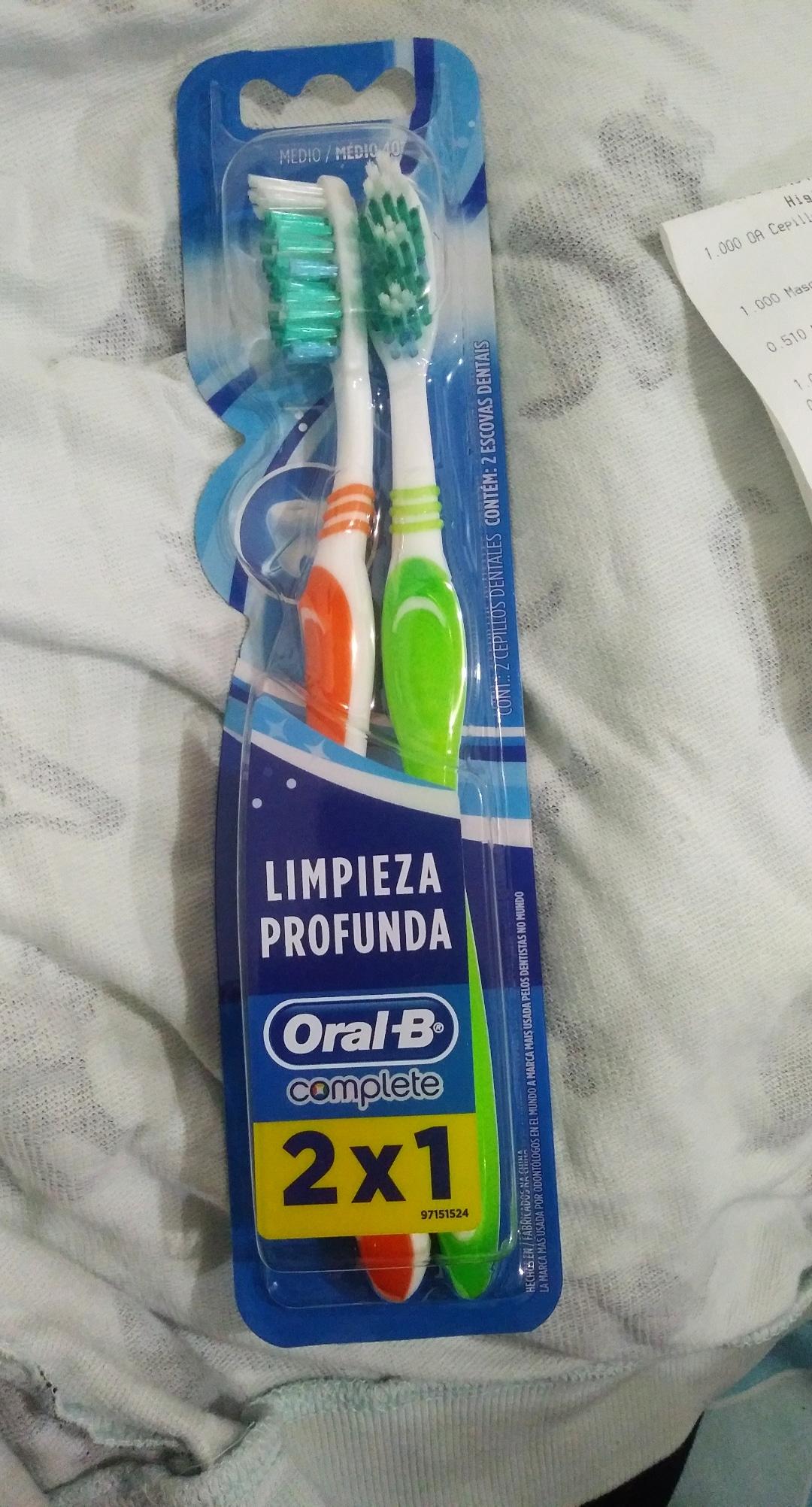 Chedraui: 2 cepillos oral B x $9