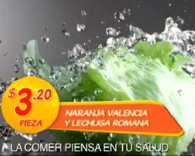Miércoles de plaza en La Comer mayo 15: lechuga $3.20 y más