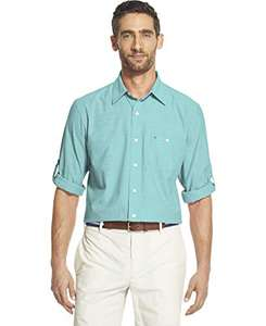 Amazon: Camisa Izod. Color azul. Talla XL. Prime