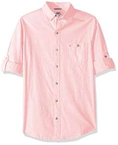 Amazon: Camisa Izod. Color rosa. Talla XL SLIM. Prime
