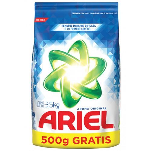 Chedraui Querétaro Centro Sur: Detergente Ariel 3 kg + 500 g a $9.90