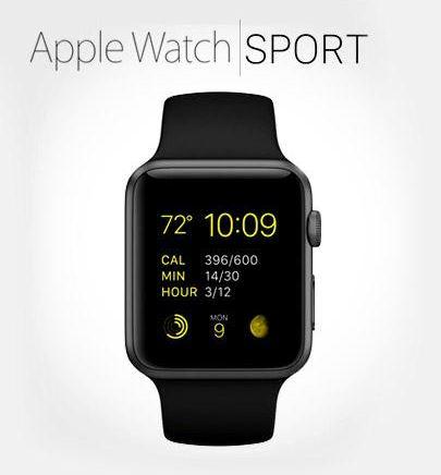 Pontebuso: Apple iWatch Sport de 38mm a $5,499