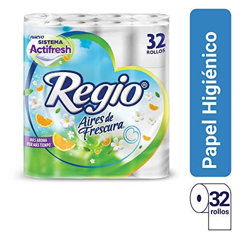 Amazon Papel Higiénico Aires de Frescura Regio; 32 Rollos