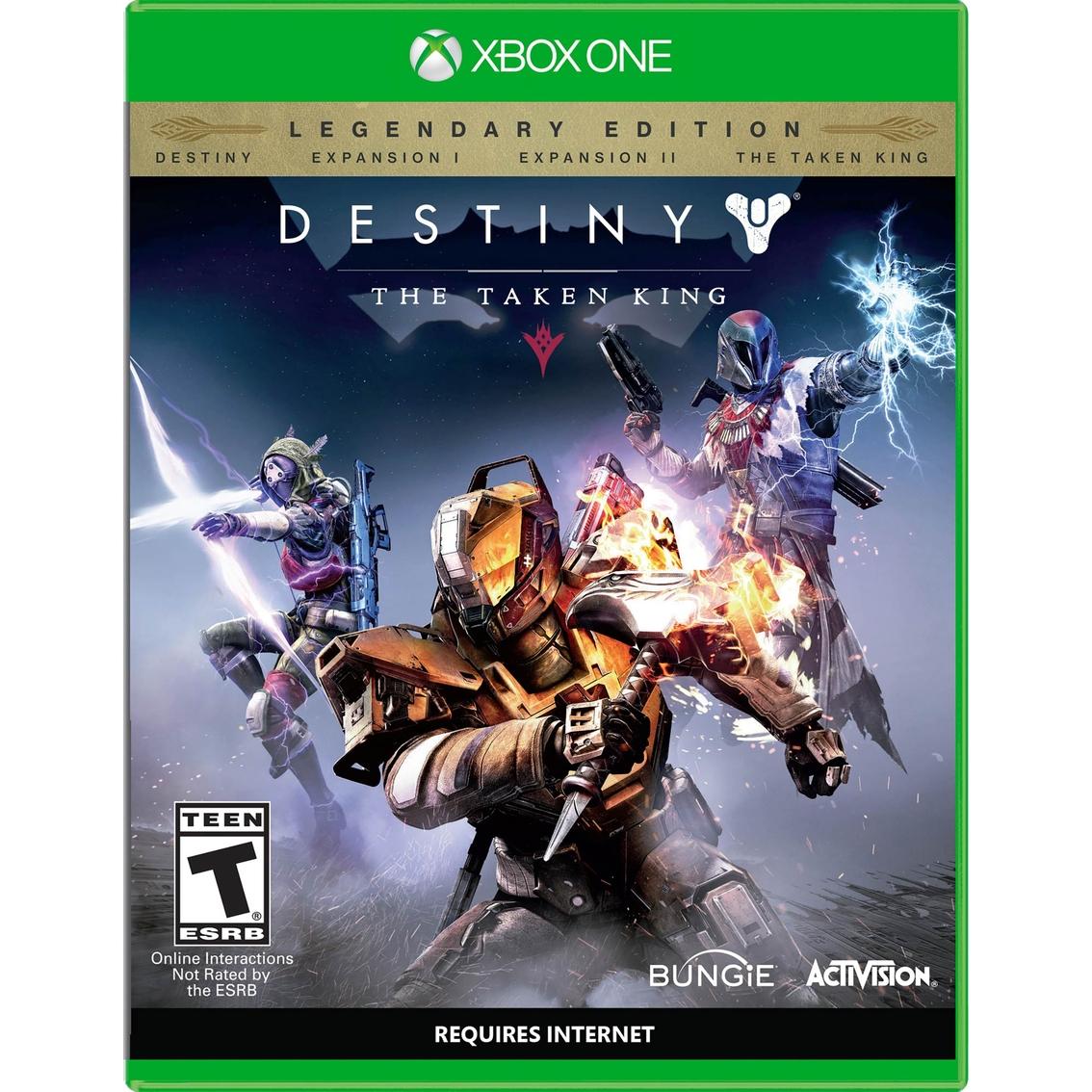 Palacio de Hierro Online descuento del 50% o más en videojuegos. Ejemplo: Destiny: The Taken King de $1,299 a $499
