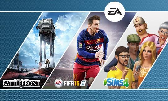 Origin: Oferta del editor, ahorra hasta un 75% (FIFA 16 + PvZ: GW, Battlefront, Los Sims 4, etc.)