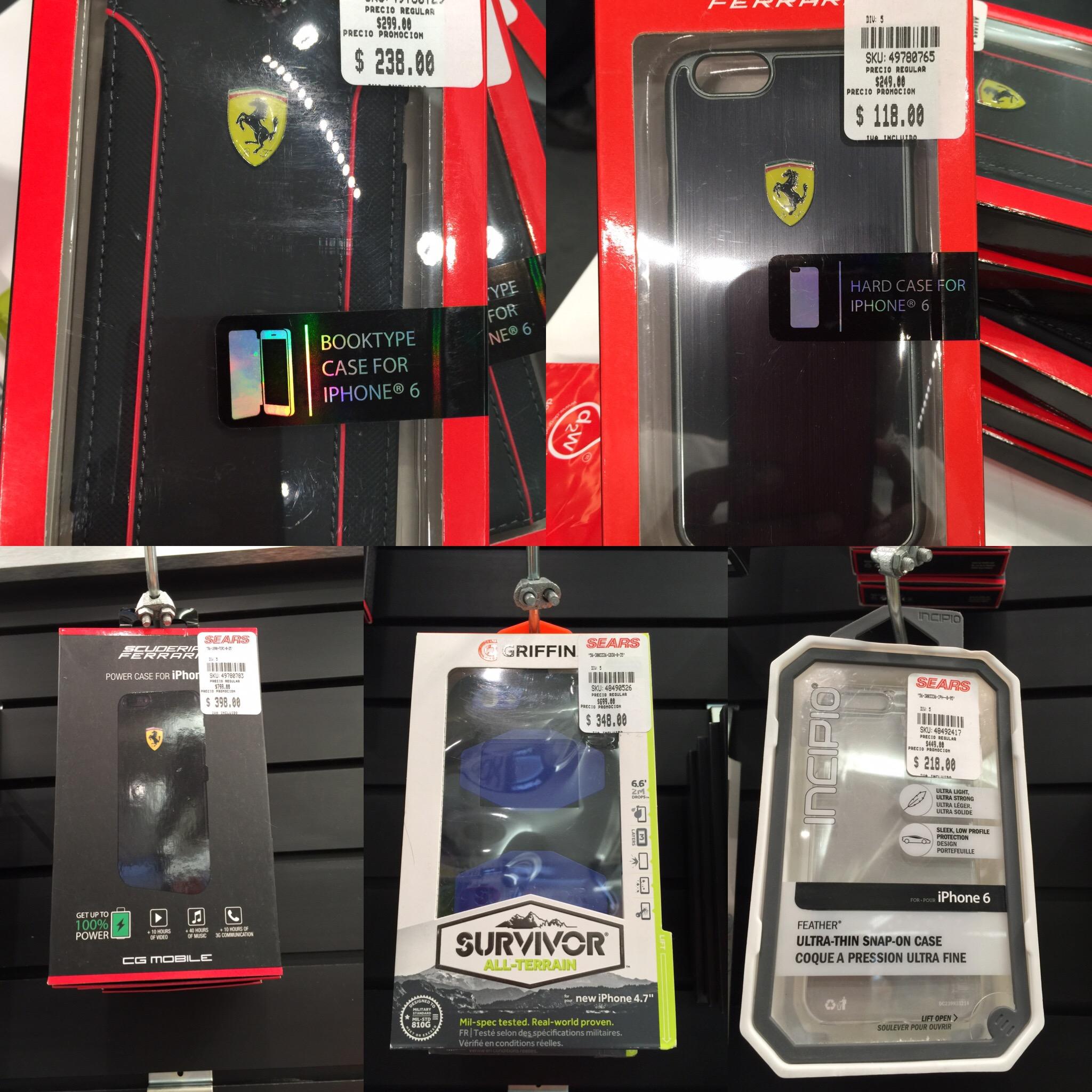 Sears Lindavista: Descuentos del 50% en fundas y baterías auxiliares para celular