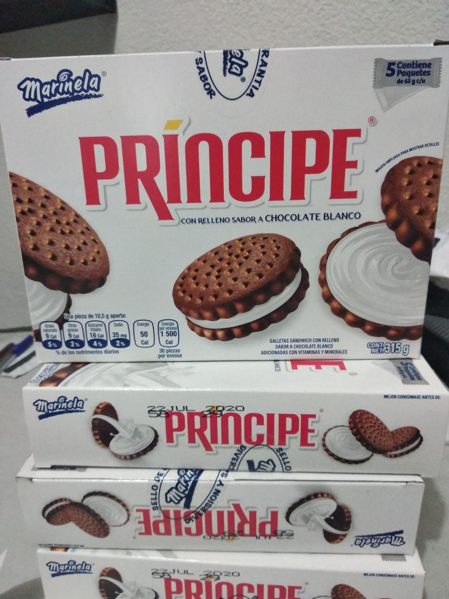 Chedraui: Caja Galletas Príncipe