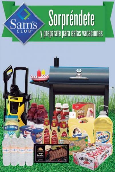 Cuponera Sam's Club del 14 de mayo al 17 de junio