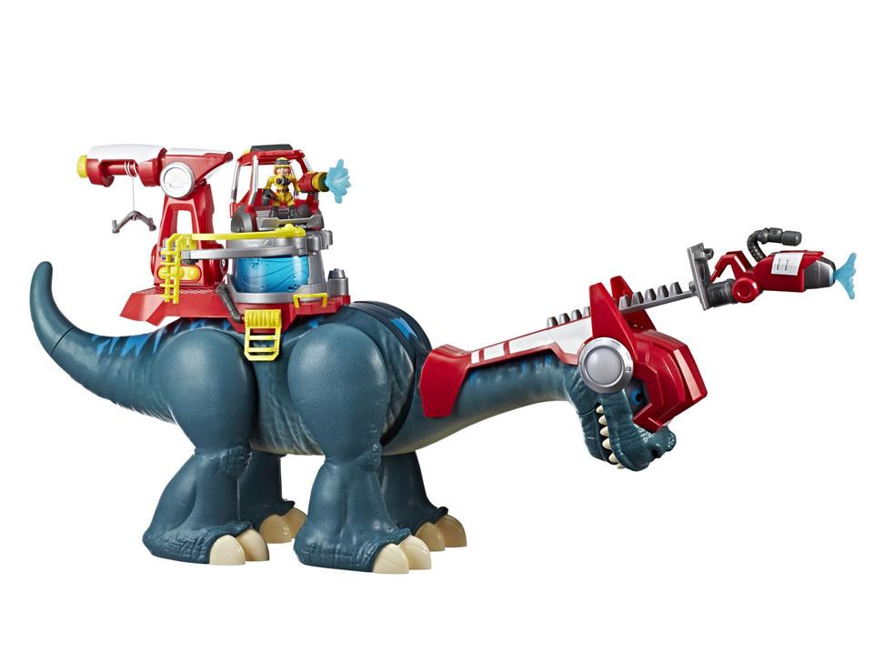 Suburbia Blazeasaurus y Sparks Mckenzie Chomp Squad Playskool $417