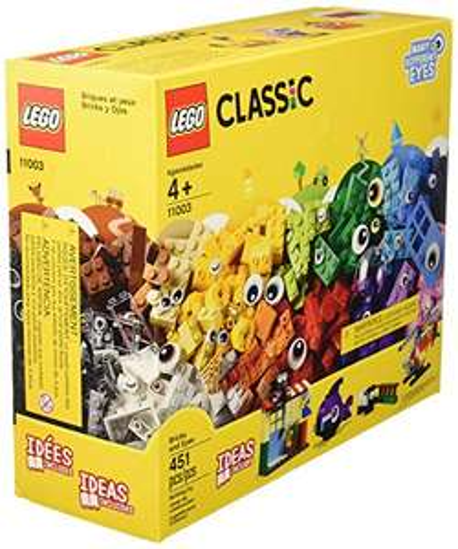 Amazon: Set LEGO Classic Ladrillos y Ojos (451 Pzs)