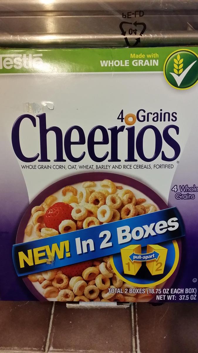 Costco Veracruz Puerto: cereal Cheerios 4 granos con dos cajas de 531 grs. cada una a $38