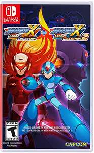 Amazon: Mega Man X Legacy Collection 1 + 2 for Nintendo Switch - Collector's Edition