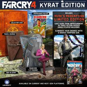 Amazon: Far Cry 4 para PlayStation 3 Standard Edition