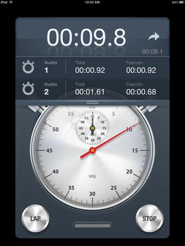 App Store aplicación Cronómetro+ Gratis Valor real 3 euros