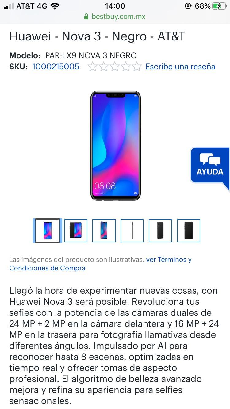 Best Buy Huawei Nova 3 + Huawei Y7 2019