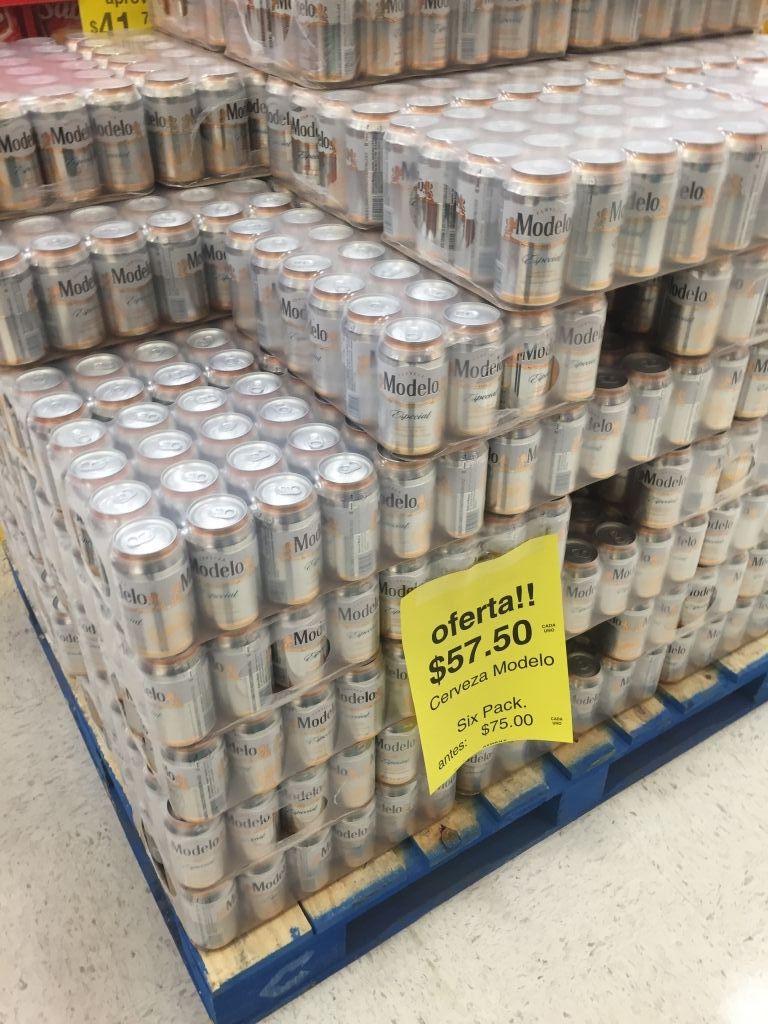 Soriana: six de cerveza Modelo a $57.50