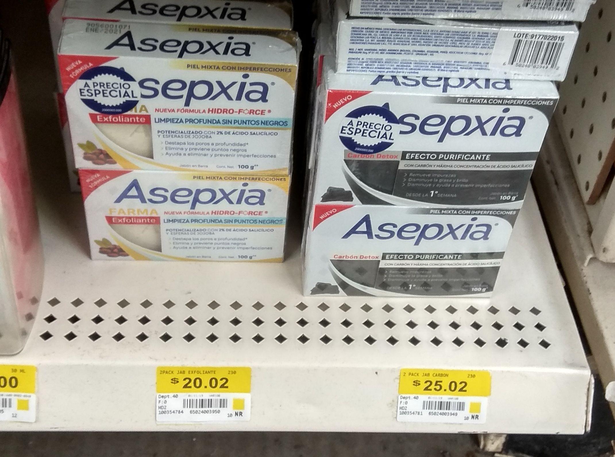 Bodega Aurrera: Jabones Asepxia