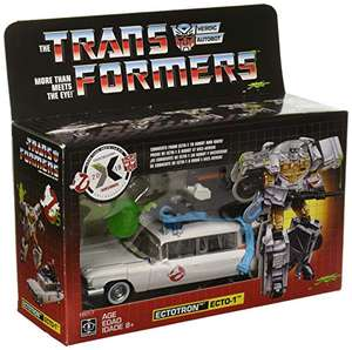Amazon: Transformers Figura Exclusiva Ghostbusters Ectotron Action Figure