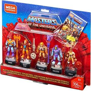 Amazon: Mega Construx - Heroes Masters of The Universe Figure Pack