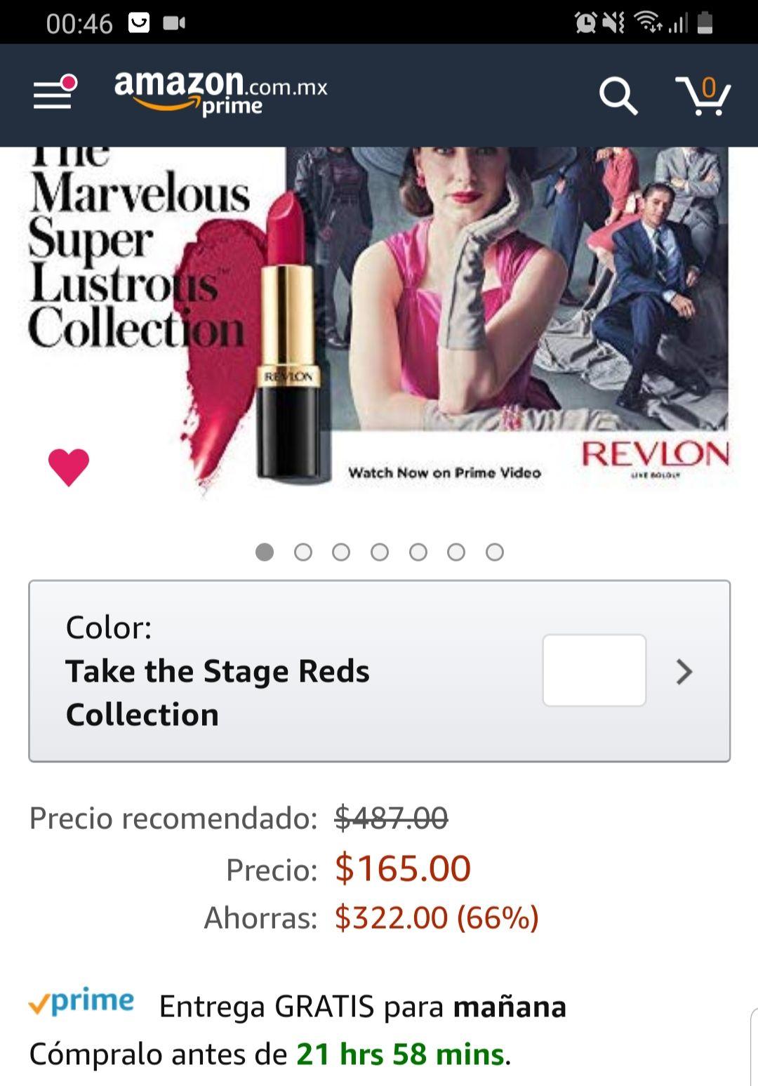 Amazon: Labiales Revlon 165