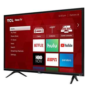 Amazon: TCL 32S325 32 Inch 720p Roku Smart LED TV (2019)