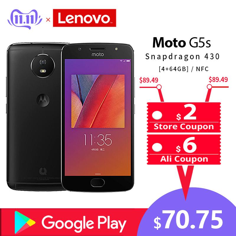 Aliexpress: Motorola Moto G5s