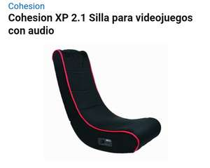 Amazon MX: Silla para videojuegos con audio Cohesion XP 2.1 en $1,111