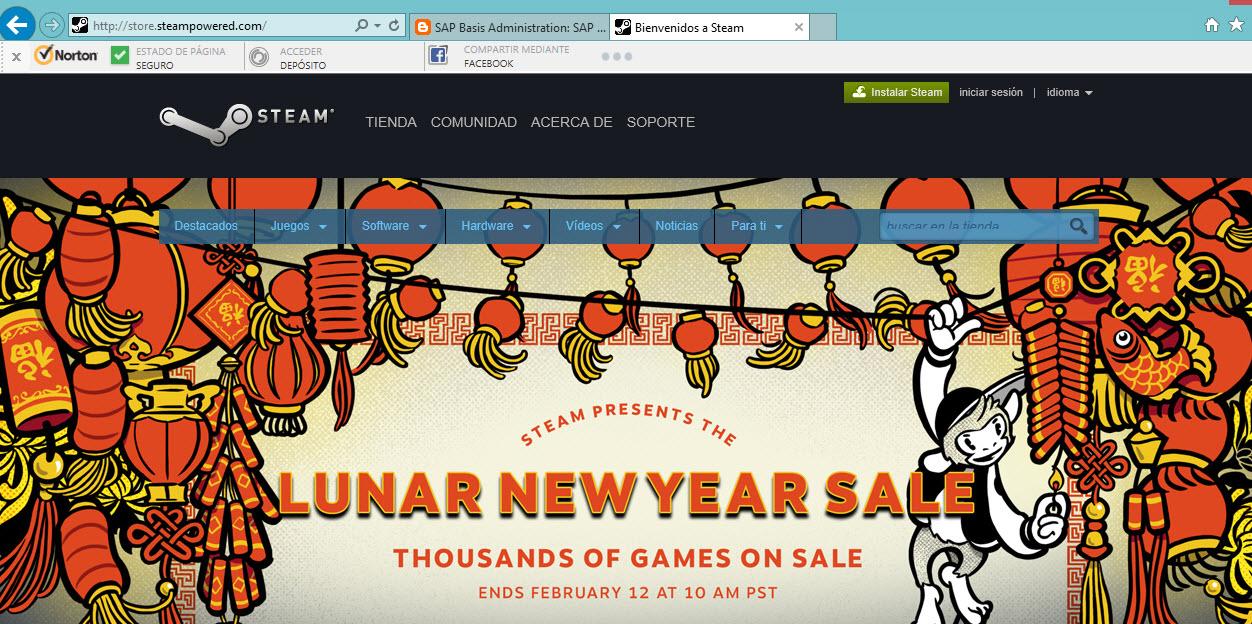 Steam: Lunar new year sale
