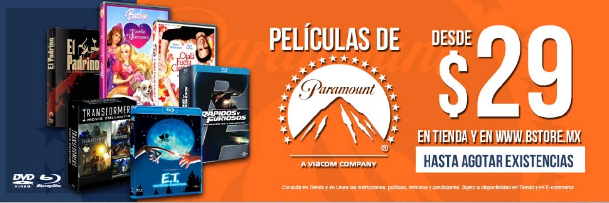 B Store: Peliculas y Series de Paramount desde $29